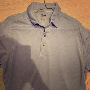 "Rare limited DTS x PLEASURES BLUE""  polo"